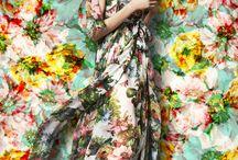 FullBloom Fashion / #LivingLifeInFullBloom #beauty #GardenFashion #FloralFashion #NatureFashion #FloralCrowns #CaliBo #flowers&clothes #bloominBo