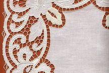 Repujado,pirograbado, bordado y pintado