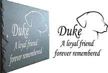 Slate Pet Memorials
