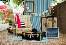 Favorite Places and Spaces / An assortment of whimsical and vintage inspirations for craft fair booths or a future store.