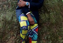 African men's outfit