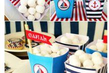 Anchors Away~Nautical Party Inspiration