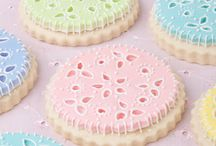 Just...Broderie Anglaise sugary creations