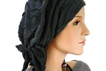 Fashion: Head Coverings / I'm going to be hairless for at least a year - might as well try and look *fabulous*!