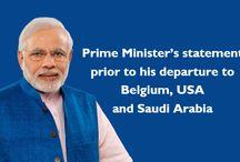 Our Dear Respected Shree. Modi Ji ...