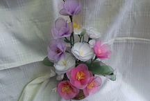 Virágok. / Harisnya virág.