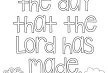 Kids Coloring Pages / Coloring pages for children's ministry