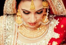 Indian Wedding Beauty / Indian wedding is an occasion where every one wants to look their best.