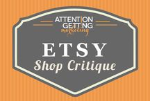 ETSY BUSINESS TIPS / Etsy business tips, Etsy marketing tips, Etsy advice. I'm marketing blogger and online consultant Gail Oliver. https://www.etsy.com/shop/AttentionGetting.