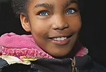 Unique Eyes II / Unknown People With Blue, Green or Hazel Eyes / by Jaydia Simmons