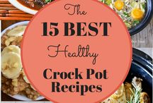 Healthy Crockpot Recipes / by Ashlea Carnley