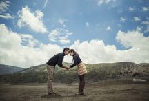 Prewedding Novita & Fredy / at Bromo Mountain East Java interest for photoshoot  +62 812-5288-0149  www.jppicture.com