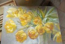 Art Gallery Paleta -Monika Malinowska / Paintings by Monika Malinowska