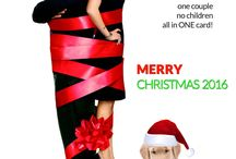 Funny Couple Christmas Card