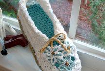 Wool crochet, knit