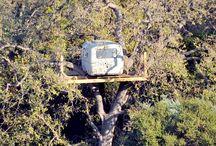 Awesome Treehouses & Tiny Houses