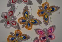 Kanzashi butterflies
