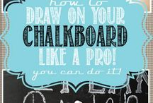 Chalkboard Ideas / by Judy Renner