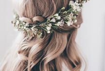 Flower Crowns / I'd rather have flowers around my hair, then diamonds around my neck.