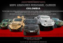 Armored Personnel Carrier Colombia / Armored Personnel Carrier Colombia-MSPV Armored Personnel Carrier specifically designed for border patrol and reconnaissance missions. Its high mobility, great manoeuvrability and survivability make it ideal for both urban and rural area. Both LHD and RHD configurations, this highly versatile Armored Personnel Carrier can be used globally. For more information, contact us at +971 4 425 1761 or draft emails on info@mspv.com or  http://www.mspv.com
