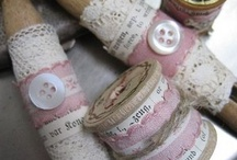 C Buttons, Clothespins & Spools
