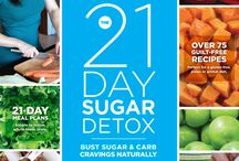21 Day Sugar Detox / The 21-Day Sugar Detox is a clear-cut, effective, whole-foods-based nutrition action plan that will reset your body and your habits! Bust Sugar & Carb Cravings Naturally.