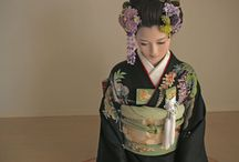 kimono / I will be a model....