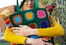 Crochet bags & purses