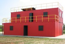Expandable Training Facilities / The Expandable Trainer utilizes modular construction in the development of rescue and live fire training facilities, with the ability for future expansion.  Capable of accommodating gas fired props or ordinary combustible products, these facilities provide unlimited possibilities, from single level units, to multi floor training complexes.  Confined space, search and rescue, rappelling and forcible entry are just the beginning of the training objectives available in the Expandable Series.