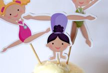Gymnastics Themed Party / A party theme for gymnasts or kids who love thrilling and amazing moves of gymnastics sports.