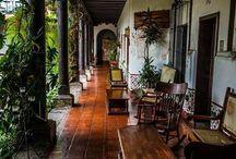 Antigua guate houses / Arquitectura, decoración