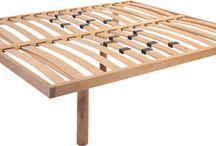 piano letto in legno di faggio