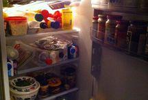 3. kleding en eten / ik laat een paar outfits zien en ik laat zien hoe mijn koelkast eruit ziet van binnen