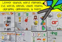 Phonics Journals / by Nadia Rolle