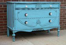 Furniture, Painted pretties