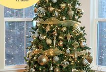 Christmas tree decorations / Decorations