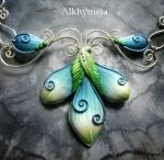 Wire & Polymer Clay Jewelry