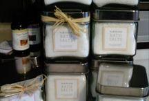 bath salts using essential oils