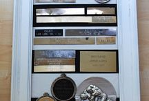 Medal Magic / Ideas for displaying ballroom cups, medals & ribbons
