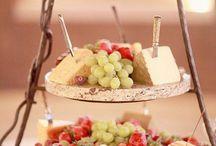 Le salé / Le salé aussi a son mot à dire ! D'ailleurs, le fromage fait toujours un grand succès lors des mariages ! Faites vous plaisir en variant la présentation !