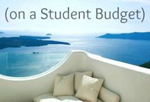 Student travel / How to travel on a broke student budget