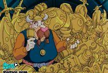 Montana Jones, series dibujos clasicos / Dibujos animados Montana Jones, serie TV niños de aventuras. Dibujos japoneses, series de siemrpe, series dibujos de los 90