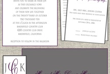 Wedding Designs / by Matinae Design Studio