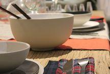 Table inspiration / L'art de la table  Table inspiration around caravane products