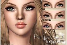the Sims 3 makeup