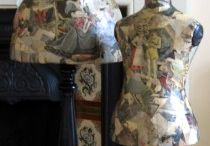 Decoupage / Manequins