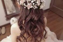 カラードレス  ヘアスタイル