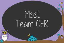 Meet Team CFR / Meet the people that make it all happen!  #MeetTeamCFR