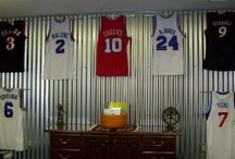 DIY Jersey Displays / Want to get that sports jersey out of the closet or off the floor?  The Ultra Mount jersey display hanger is the perfect do it your self project at an affordable price!