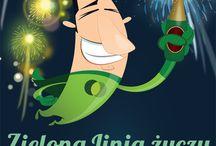 Życzenia noworoczne / Dziękujemy, że byliście z nami! W nadchodzącym roku życzymy Wam dużo fajnej pracy, w sympatycznym i zgranym zespole, satysfakcjonującej zarówno pod względem finansowym, jak też intelektualnym, oby rok 2014 pozytywnie nas wszystkich zaskoczył!